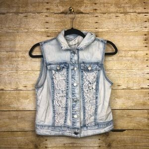 love, Fire Jackets & Coats - Love fire jean vest